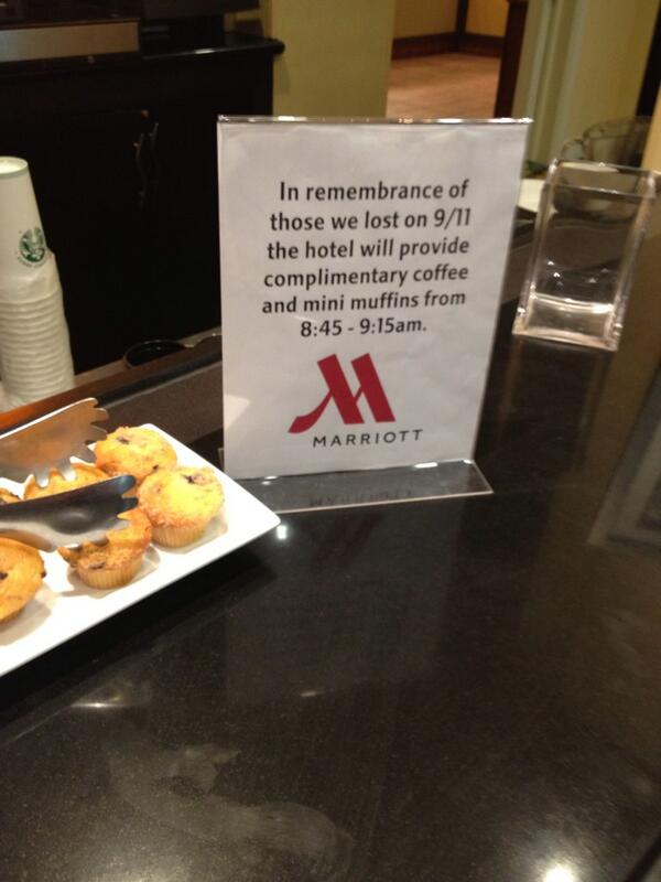 Marriott Sept 11th Social Media Fail